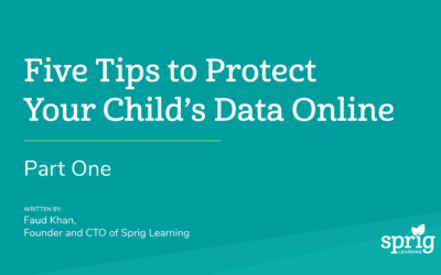 Five Tips to Protect Your Child's Data Online (Part One – Children on Computers)