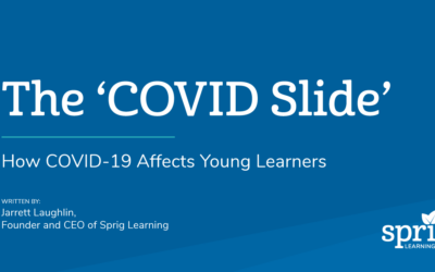 COVID Slide: How COVID-19 Affects Young Learners