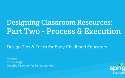 Designing Classroom Resources: Part Two – Process & Execution Design Tips & Tricks for Early Childhood Educators
